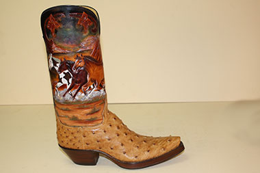 3c04394a7ab Lugus Mercury Handmade Boots - Custom Cowboy Boots, Golf Shoes and ...