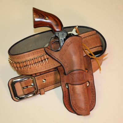 Handmade Leather Gun Holster