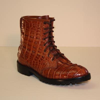 6f9e4dd4ede Lugus Mercury Handmade Boots - Custom Cowboy Boots - Cognac Hornback ...