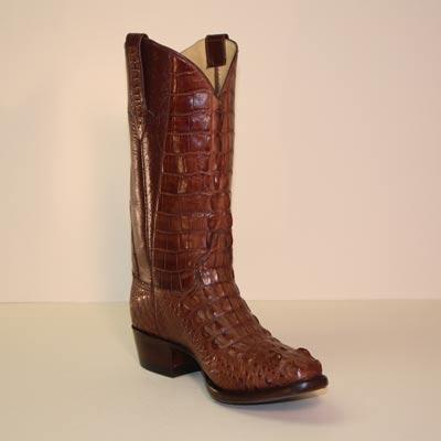 9b241570d8b Lugus Mercury Handmade Boots - Custom Cowboy Boots - Brown Hornback ...