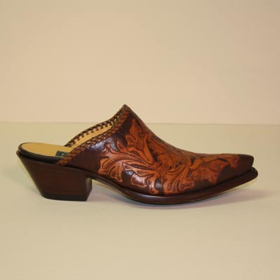 Hand-Tooled Custom Made Cowboy Style Mule